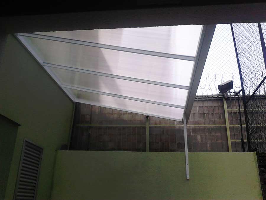 Cobertura policarbonato em São Bernardo do Campo